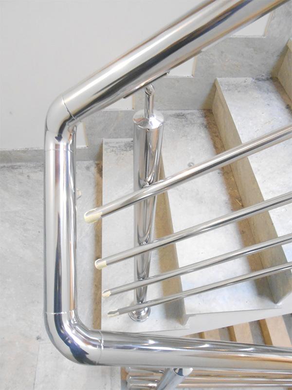 Barandillas de acero inoxidable para escaleras interiores ibarkalde s l - Precio escaleras interiores ...