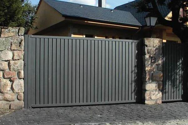 Puerta Alucomir Corten - Puertas - Puertasnet