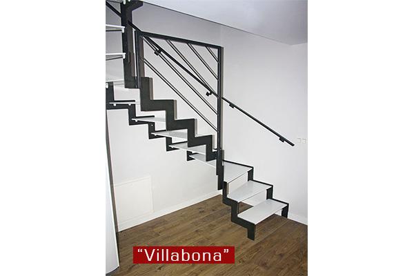 Escaleras met licas en gipuzkoa ibarkalde s l hernani Escaleras herreria para interiores