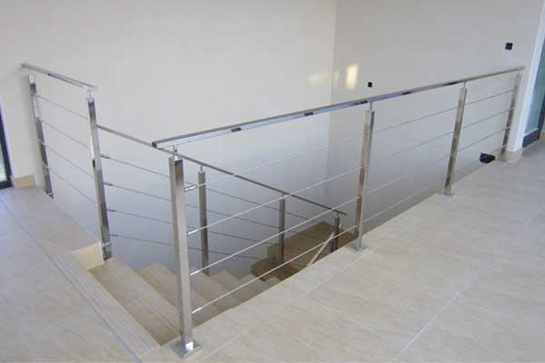 Barandillas ibarkalde s l hernani gipuzkoa - Barandillas para escaleras interiores ...