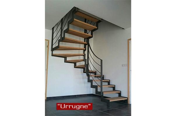 Escaleras met licas ibarkalde s l de hernani gipuzkoa for Escaleras modernas para espacios pequenos