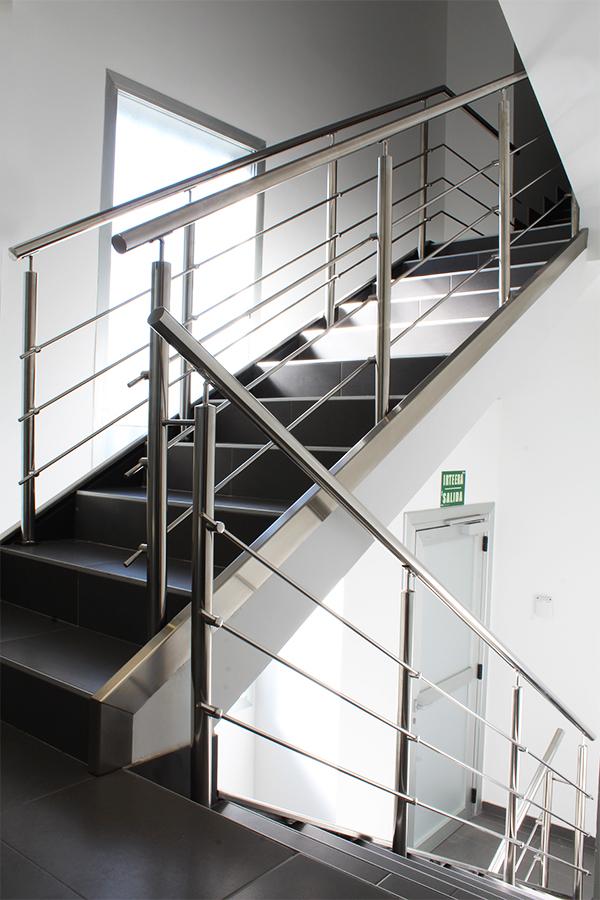Barandillas de acero inoxidable aisi 304 para escaleras de - Barandillas de inoxidable ...