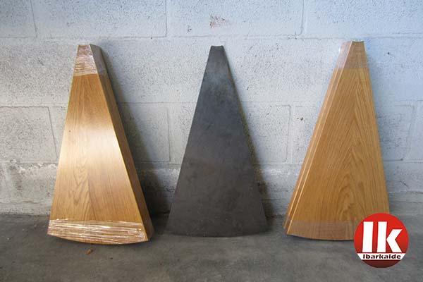 caracol modelos de madera para los peldaos de una escalera