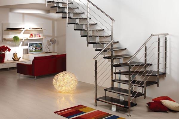 Escaleras met licas en pamplona navarra ibarkalde s l - Diseno de escaleras interiores ...