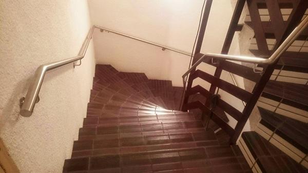 Pasamanos de acero inoxidable para hotel de lourdes - Pasamanos escaleras interiores ...