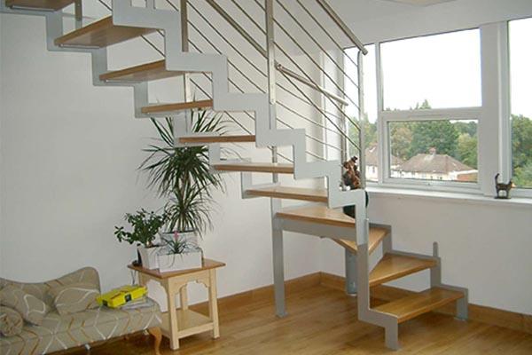 Escaleras met licas en pamplona navarra ibarkalde s l - Precio escaleras interiores ...