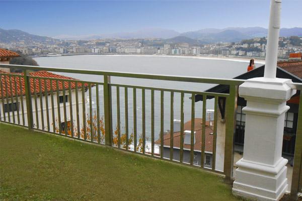 Barandillas de acero inoxidable en donostia san sebasti n - Barandilla terraza ...