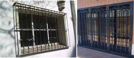 rejas de hierro rejas de seguridad rejas de diseo rejas de forja artstica fabricamos todo tipo de rejas metlicas a medida
