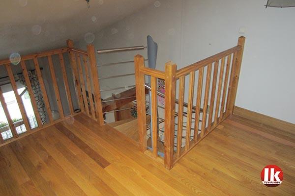 Escalera de caracol en azpeitia para acceso a entreplanta for Ver escaleras de caracol