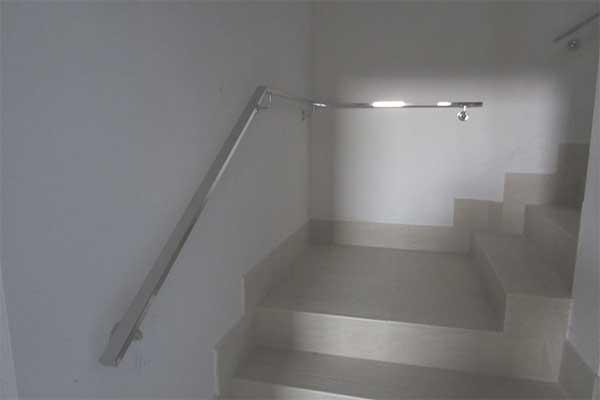 Barandillas ibarkalde s l hernani gipuzkoa - Pasamanos de acero inoxidable para escaleras ...