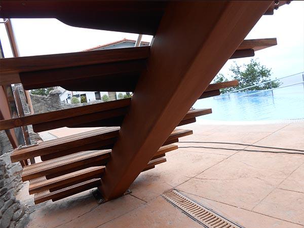 Precio escalera metalica escalera recta precio escalera for Escalera exterior de acero galvanizado precio