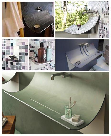 Estructura de acero inoxidable para lavabos de dise o en - Diseno de lavabos ...