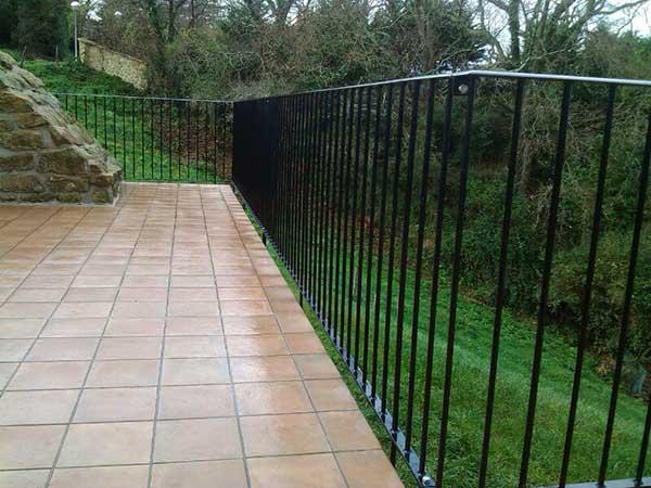 Barandillas para terrazas barandillas para balcones y - Cubrir terraza barato ...