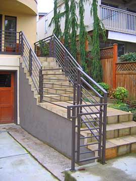 Escaleras metalicas exteriores precios cheap escaleras for Escalera exterior de acero galvanizado precio