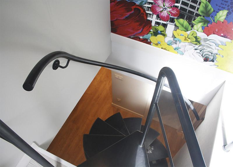 Escalera helicoidal para espacio reducido en zarautz - Barandillas de seguridad para escaleras ...