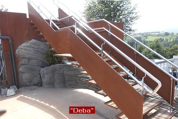 escaleras metlicas en pamplona navarra escaleras de caracol rectas interiores exterioresu