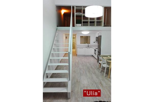 Escaleras de interiores en gipuzkoa ibarkalde s l Diseno de interiores san sebastian