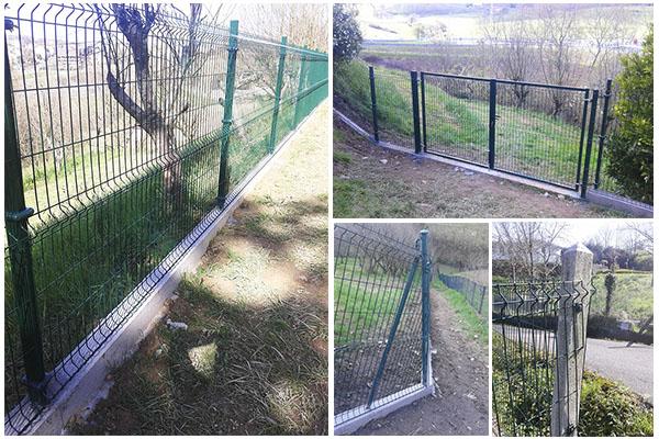 Cerramiento panel h rcules para parcela privada en - Cerramientos de parcelas ...