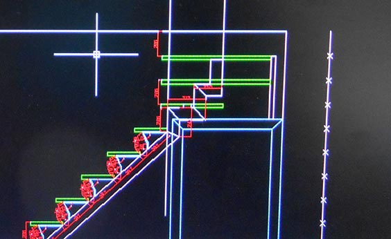 Escaleras en bilbao bizkaia de caracol de hierro de for Programas de diseno de espacios